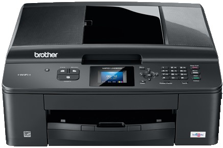how to clean printer head brother mfc j430w